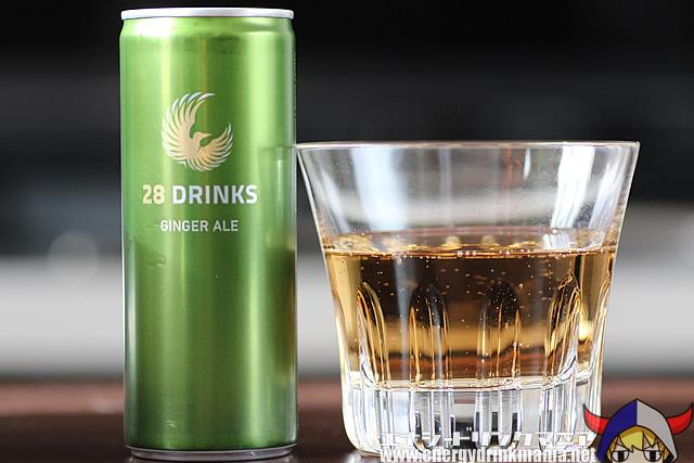 28 DRINKS GINGER ALE