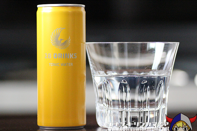 28 DRINKS TONIC WATER
