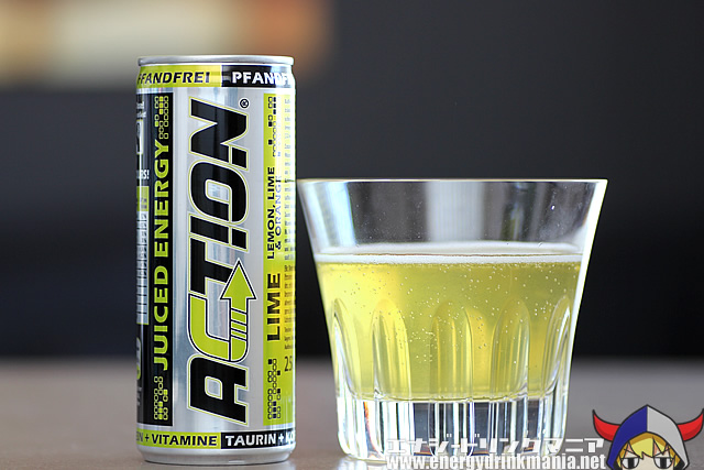 ACTION JUICED ENERGY LIME