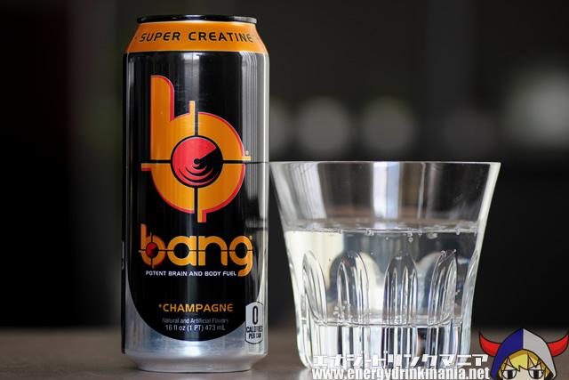 bangエナジードリンク Champagne