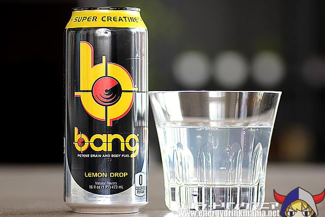 bangエナジードリンク Lemon Drop