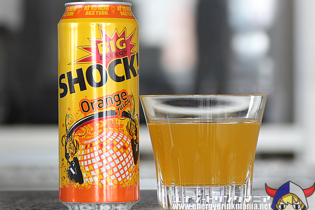 BIG SHOCK ENERGY Orange