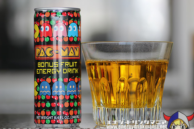 PAC-MAN BONUS FRUIT ENERGY DRINK