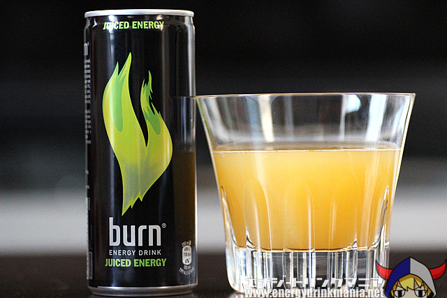 burn JUICED ENERGY