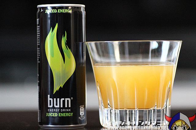 burn JUICED ENERGY