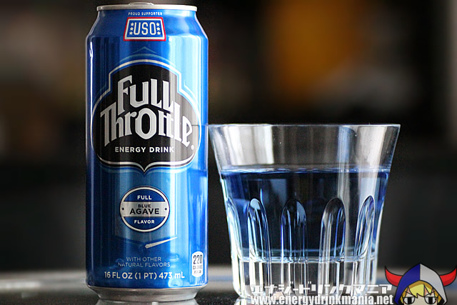 Full Throttle Energy Drink Blue Agave