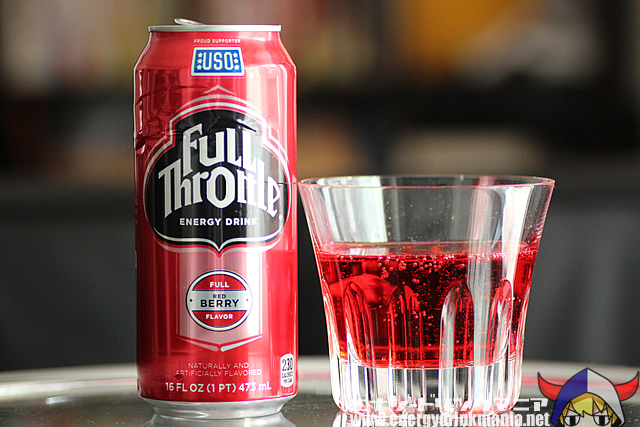 Full Throttle Energy Drink Red Berry