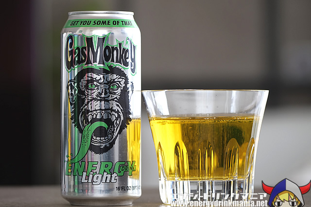 Gas Monkey ENERGY DRINK Light