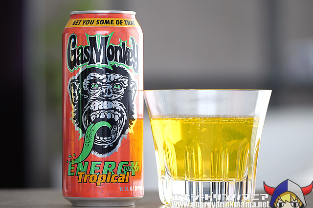 Gas Monkey ENERGY DRINK Tropical