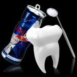 エナジードリンクは虫歯の原因になる?