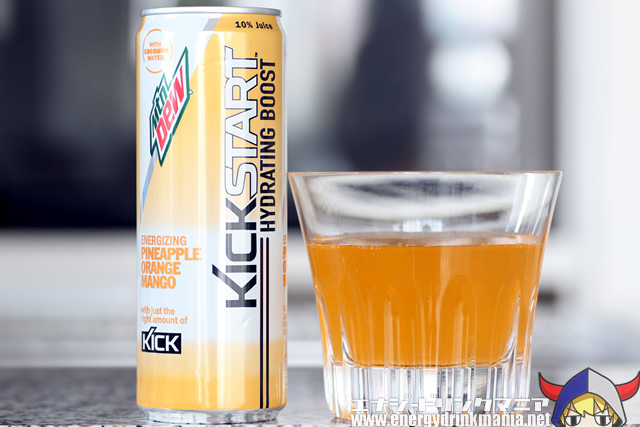 KICKSTART HYDRATING BOOST PINEAPPLE ORANGE MANGO