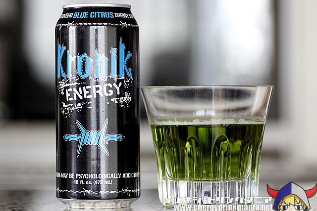 Kronik ENERGY BLUE CITRUS