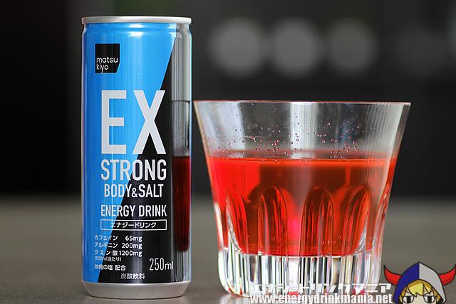マツキヨエナジードリンク EX STRONG BODY and SALT