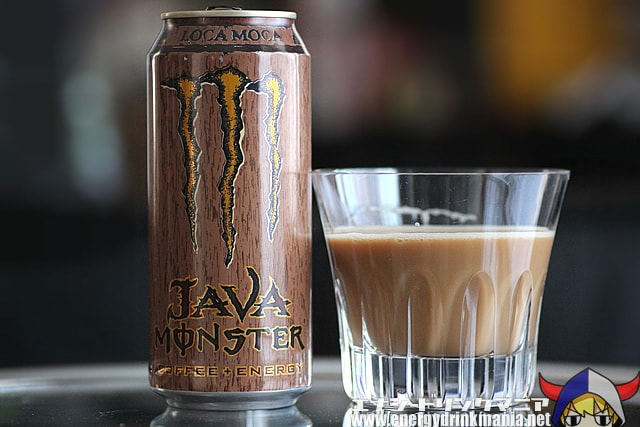 JAVA MONSTER LOCA MOCA