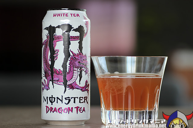MONSTER ENERGY DRAGON TEA WHITE TEA