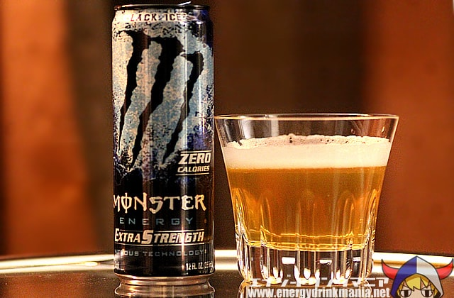 MONSTER ENERGY Extra Strength Black Ice