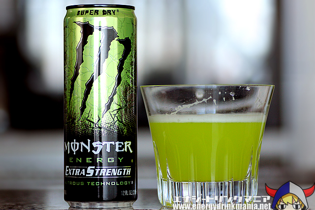 MONSTER ENERGY Extra Strength Super Dry