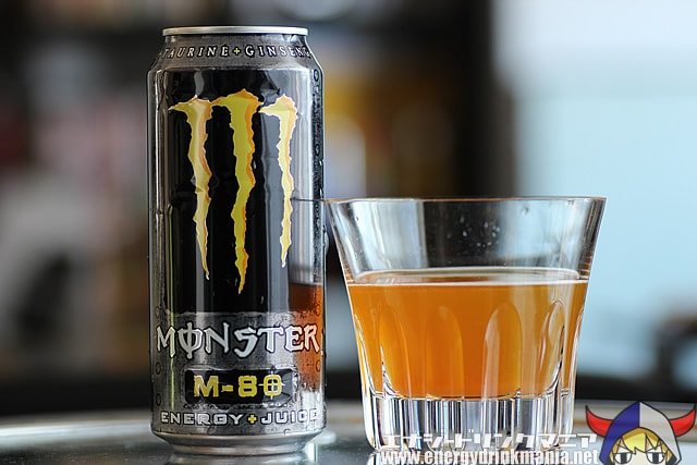 MONSTER ENERGY M-80 (80%juice)