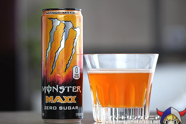 MONSTER ENERGY MAXX ZERO SUGAR MANGO MATIC