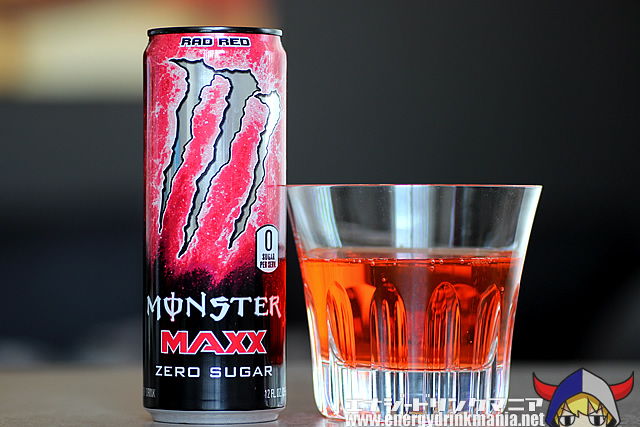 MONSTER ENERGY MAXX ZERO SUGAR RAD RED