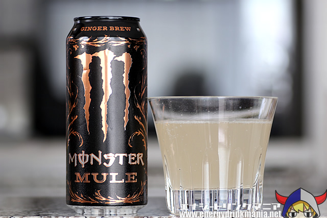 MONSTER ENERGY MULE GINGER BREW
