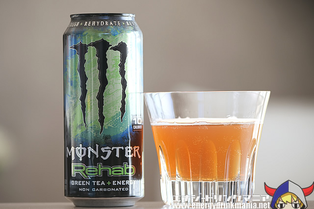MONSTER ENERGY Rehab GREEN TEA