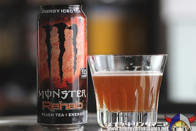 MONSTER ENERGY Rehab PEACH TEA