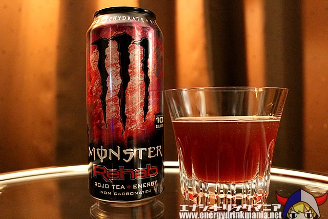 MONSTER ENERGY Rehab ROJO TEA