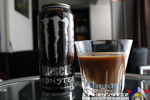 MUSCLE MONSTER ENERGY SHAKE COFFEE