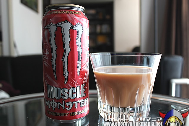 MUSCLE MONSTER ENERGY SHAKE Strawberry