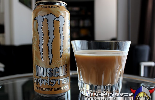 MUSCLE MONSTER ENERGY SHAKE VANILLA