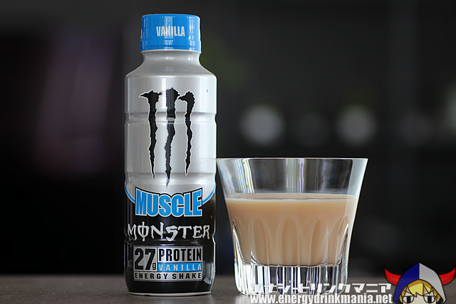 MUSCLE MONSTER ENERGY SHAKE VANILLA BOTTLE