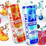 イギリスROCKSTAR ENERGY WATER発売