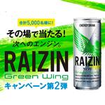 2016年7月15~9月15日 RAIZIN GREEN WINGキャンペーン第二弾