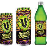 Vエナジードリンク新作Twisted Tropics Pineapple Crush発売!