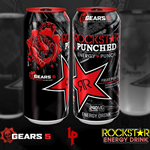 GEARS 5 x ROCKSTAR ENERGYデザイン缶発売