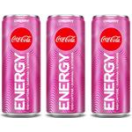 ヨーロッパでコカ・コーラエナジーのチェリーフレーバー発売