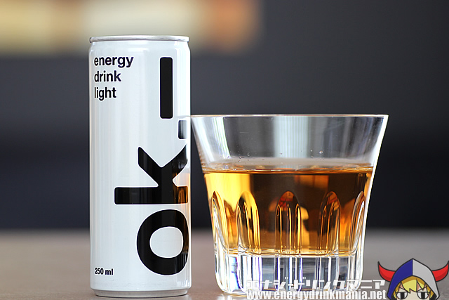 ok energy drink light