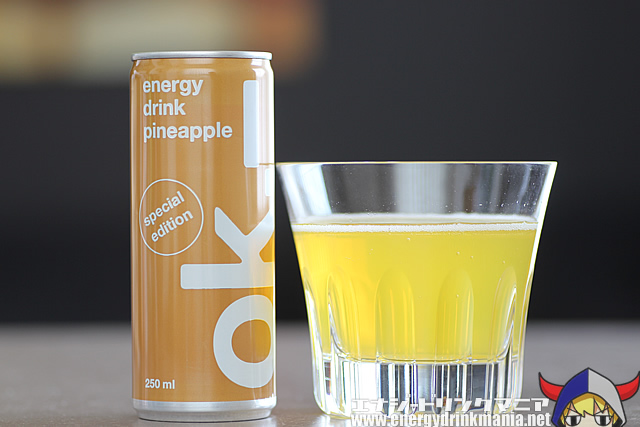 ok energy drink pineapple