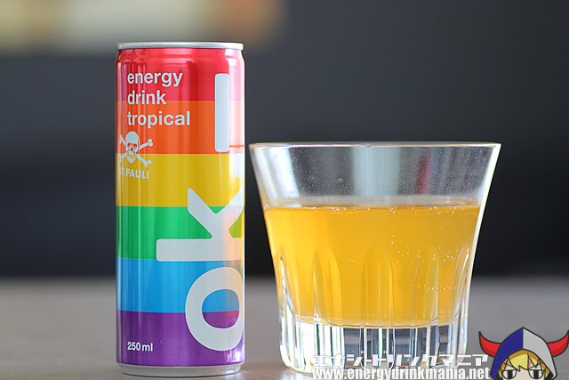 ok energy drink tropical ST. PAULI