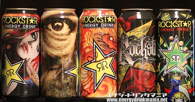 ROCKSTAR Inked Up CAN ART