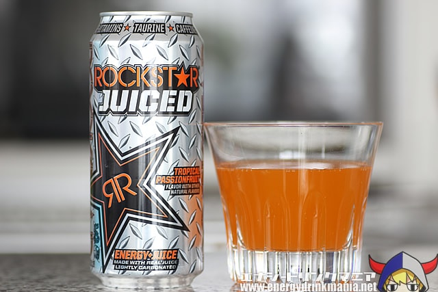 ROCKSTAR JUICED TROPICAL PASSIONFRUIT