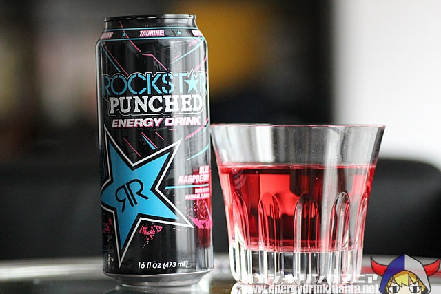 ROCKSTAR PUNCHED Blue Raspberry
