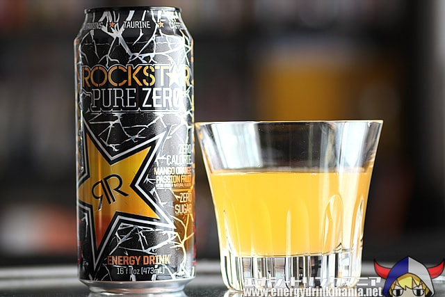 ROCKSTAR PURE ZERO MANGO ORANGE PASSION FRUIT