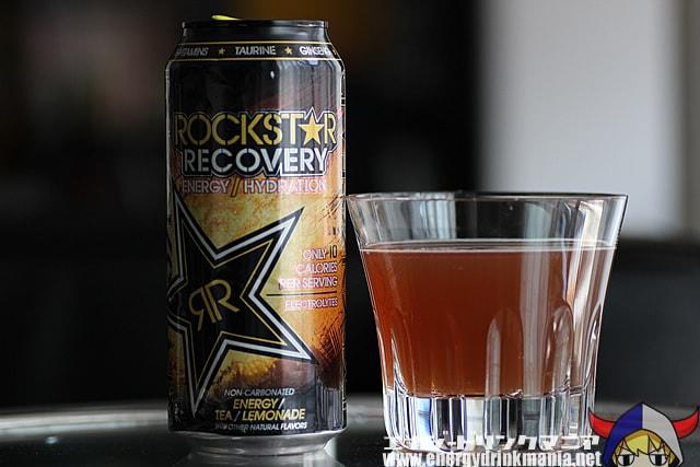 ROCKSTAR Recovery Tea Lemonade