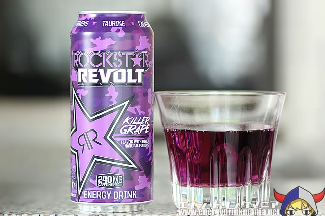 ROCKSTAR REVOLT KILLER GRAPE