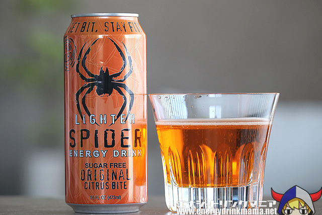LIGHTER SPIDER ENERGY DRINK ORIGINAL CITRUS BITE SUGAR FREE