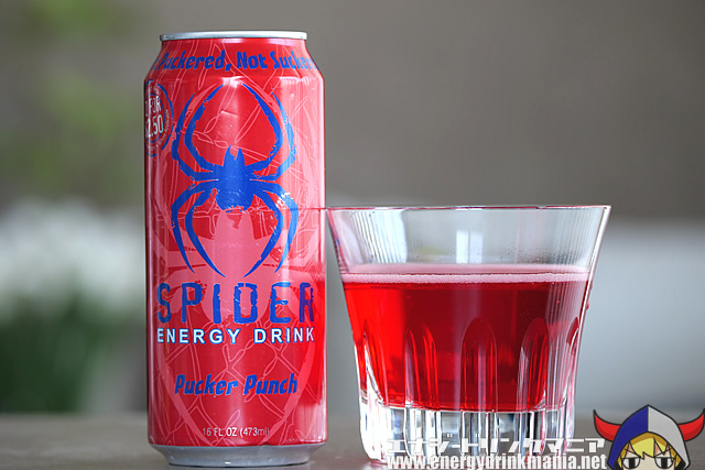 SPIDER ENERGY DRINK Pucker Punch