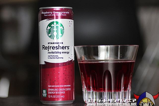 STARBUCKS Refreshers Raspberry Pomegranate