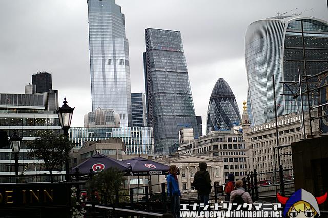 ロンドン(イギリス) エナジードリンクの旅2019